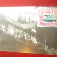 Ilustrata TCV - Hohe Rinne - Paltinis - stampile speciale 1999