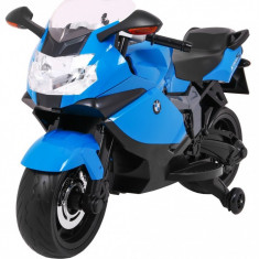 Motocicleta electrica BMW K1300S, albastru