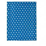 Cumpara ieftin Patura picnic Dekor, 140x180 cm, alb/albastru