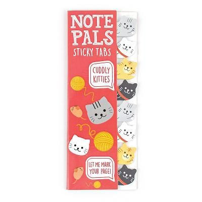 Note Pals Sticky Note Pad - Cuddly Kitties (1 Pack)