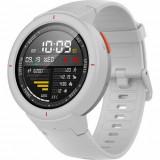SmartWatch Amazfit Verge alb, curea silicon alba, Bluetooth, GPS si senzor HR, APELURI Bluetooth, Xiaomi