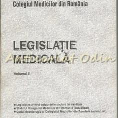 Legislatie Medicala II - Colegiul Medicilor Din Romania