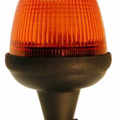 Girofar LED Galben cu prindere Din Pole si amortizor de vibr