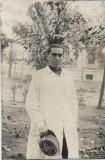 A565 Fotografie medic militar roman anii 1920 poza veche