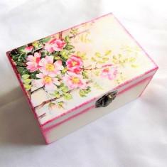 Cutie lemn decorata 33129