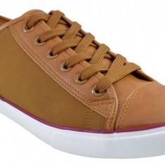 Pantofi casual barbati maro deschis cu sireturi, 40 - 42, 44