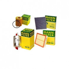 Pachet filtre revizie MANN FILTER VW Golf IV 1.4 16V 75 cai