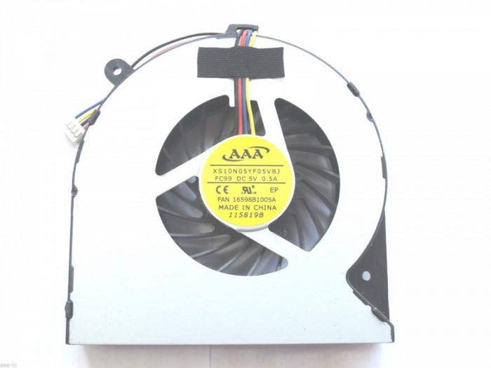 Cooler Laptop Toshiba Satellite L855 cu 4 pini Veriunea 2