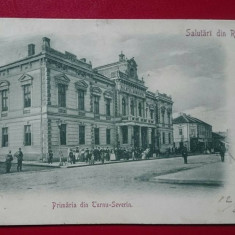 Salutari din Romania Turnu Severin primaria, Circulata, Printata