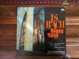 J S Bach - Jiří Reinberger – Organ Music. Muzica pentru orga, VINIL, Supraphon