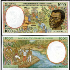 Congo 2000 - 1000 francs aUNC