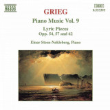 GRIEG  : Piano Music Vol. 9 ( Lyric Pieces Opp. 54, 57 and 62  - CD )
