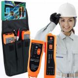 Tester Cabluri Cable Tracker Continuitate Cu LED-uri + 2 Baterii 9 v - 28