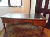 Birou stejar Louis Philippe  lungime 162 x 76x 80 cm inaltime