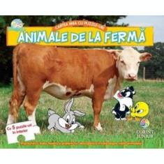 Animale de la fermă. Cartea mea cu puzzle-uri