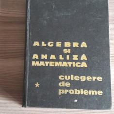 Analiza matematica si algebra superioara