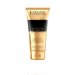 Ser pentru maini si unghii, Eveline Cosmetics, Argan & Vanilla Luxury Cream, 100 ml