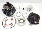 Kit Cilindru Set Motor + Chiuloasa Scuter Malaguti F15 80cc RACIRE APA