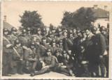Fotografie soldati Regimentul 9 Vanatori anii 1930
