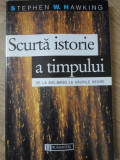 SCURTA ISTORIE A TIMPULUI DE LA BIG BANG LA GAURILE NEGRE-STEPHEN W.HAWKING