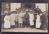 MILITARA   ROMANIA  1917/18  PRIMUL  RAZBOI  MONDIAL MILITARI SORA MEDICALA