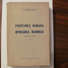 """GE - Preot Gheorghe N. POPESCU """"Preotimea Romana si Intregirea Neamului"""" Volum 2"""