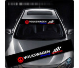 Sticker parasolar auto VOLKSWAGEN