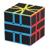 Cumpara ieftin Cub Rubik 3x3x3 Moyu MoFang Meilong SQ1, Stickere fibra carbon, 246CUB