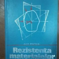 Rezistenta materialelor- Ioan Deutsch