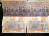 Okazie! Lot 2 bancnote consecutive 100 Lei 2019 IC Brătianu!