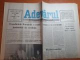 Ziarul adevarul 21 iunie 1990-ion iliescu a rostit juramantul de credinta