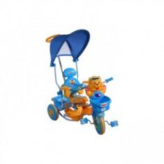 Tricicleta Pentru Copii Tigru - Albastru