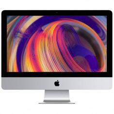 Sistem All in One Apple iMac 21.5 inch Retina 4K Intel Core i5 3.0 GHz Hexa Core 8GB DDR4 1TB HDD AMD Radeon Pro 560X 4GB Mac OS Mojave RO keyboard