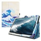 Husa pentru Huawei MediaPad T5, Piele ecologica, Multicolor, 46111.16