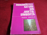 MIHAI GAVRILA - MONUMENTELE NATURII DIN JUDETUL DAMBOVITA