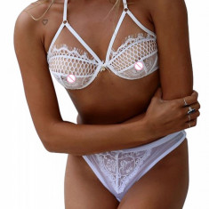 B294-2 Set lenjerie sexy cu sutien din dantela