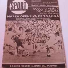Revista SPORT-nr.10/05.1971