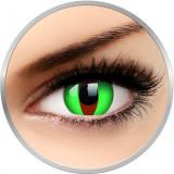Crazy Raptor - lentile de contact colorate verzi anuale - 360 purtari (2 lentile/cutie)
