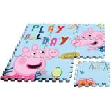 Covor puzzle Peppa Pig 9 piese SunCity EWA17004PPInitiala