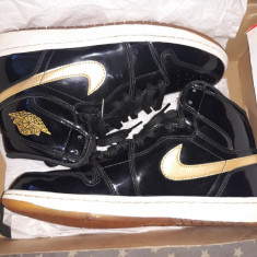 Air Jordan 1 High OG Black and Gold