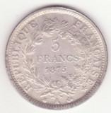 Replica (copie) dupa moneda de 5 franci 1875 Franta