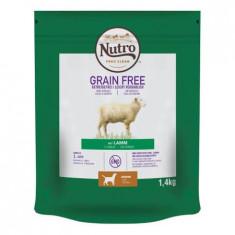 Cumpara ieftin Hrana uscata pentru caini cu miel, Nutro Grain Free Junior, 1,4 Kg