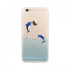 Husa APPLE iPhone 5\5S\SE - Trendy Delfin