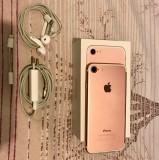 IPhone 7 32GB Rose Gold Neverlocked, Roz, Neblocat, Apple