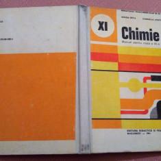 Chimie. Manual pentru clasa A XI-a, 1991 - Sanda Fatu, Cornelia Costin, Clasa 11, Didactica si Pedagogica