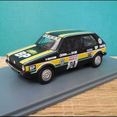 Macheta Volkswagen Golf Gr. 1 BP Racing-Rallye des 1000 Pistes (1980) 1:43 NEO