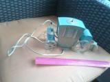 bnk ant Veioza vintage - caleasca - functionabila - tabla cu plastic - URSS