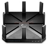 Router Wireless TP-LINK Archer C5400, Gigabit, Tri-Band, 5400 Mbps, 8 Antene externe (Negru)