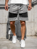 Cumpara ieftin Pantaloni scurți trening bărbați gri Bolf KS2511