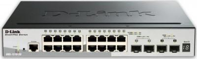Switch D-Link DGS-1510-20, 16 porturi Gigabit, 2 porturi SFP, 2 porturi SFP+ 10G, Capacity 76Gbps, S foto